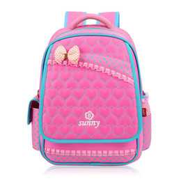 China New Lace Sweet Girl's School Bags Fashion Lovely Kid Backpack School Backpack For Baby Girl Primary Backpacks Back Pack suppliers