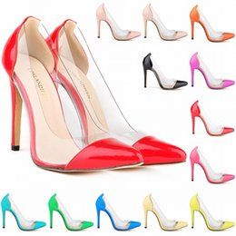 $enCountryForm.capitalKeyWord NZ - Europe Style Special Offer Femininos Women Shoes Patent Pu High Heels Pointed Corset Style Work Pumps Court US 4-11 D0006