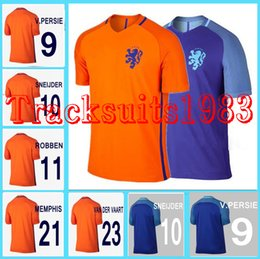 buy online c1b16 ccf8e holland 9 v.persie away soccer country jersey