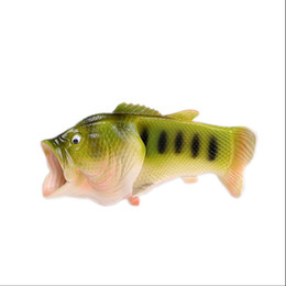$enCountryForm.capitalKeyWord UK - Koovan Men women Slipper 2017 Summer New Couple Cool Slippers Funny Fish-shaped Boys Girls Man's Shoes Beach Casual Fashion Shoes Slipper