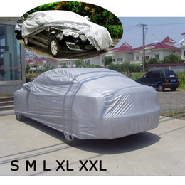 sunshade covers Australia - Universal Car Covers Shield Styling Dustproof Indoor Outdoor Sunshade Heat Protection Anti UV Scratch Resistant