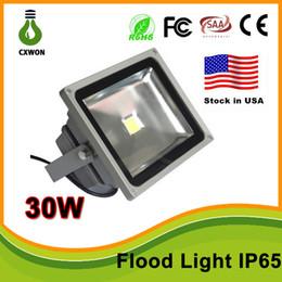 Flood light case online shopping - Stock in US High Quality W W LED Wash landscape Flood Light Lamp Outdoor Waterproof IP65 Gray Case V Flood Light CE TUV