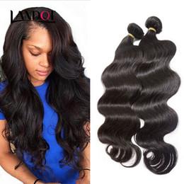 $enCountryForm.capitalKeyWord Canada - Malaysian Body Wave Virgin Hair 100% Human Hair Weave 3 Bundles 100g pcs Cheap Unprocessed Malaysian Remy Human Hair Extensions Nature Color
