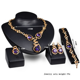 Black Coral Beads Wholesale NZ - New Jewelry Sets African Beads Collar Statement Necklace Earring Bangle Fine Ring For Women CZ Diamond Vintage Party Accessories