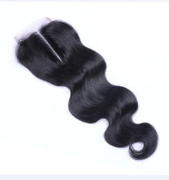 China Cool 8A Brazilian Malaysian Peruvian Indian Body Wave Hair 4x4 Lace Closure Natural Color Dyeable No Shedding Soft Free Shipping Fee DHL cheap body wave closure free shipping suppliers