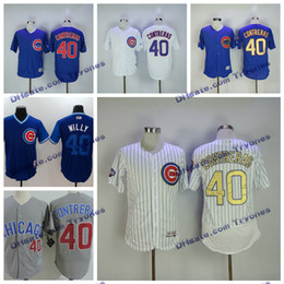 d177bcb41 ... 2017 Gold Program Chicago Cubs Willson Contreras Baseball Jerseys Cool  Base 40 Willson Contreras Jersey White ...