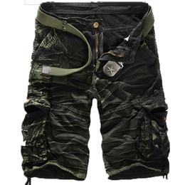 Discount Men Black Cargo Shorts   2017 Men Black Cargo Shorts on ...
