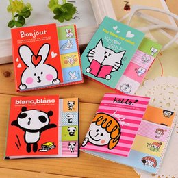 MeMo pad set online shopping - Cute New sets Cartoon Sticky Notes Post It Memo Pad School Supplies Office Planner Stickers Paper Bookmarks Stationery