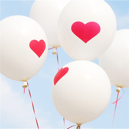 Hearts balloons online shopping - Novelty Inch Love Heart Pearl Latex Balloon Float Air Balls Inflatable Wedding Christmas Birthday Party Decoration G