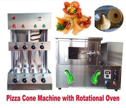 Discount pizza machines - Commercial Pizza Cone Forming Making Maker Machine with Rotational Pizza Oven