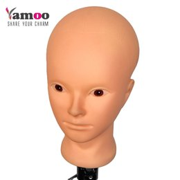 High Makeup NZ - Training Mannequin Head for practice makeup Professional high quality and nice maniquies women mannequin head with small stands