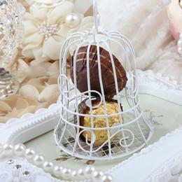 $enCountryForm.capitalKeyWord Canada - 7*7*10 cm European Style Wedding Candy box White Iron Birdcage Bird Cage Candy Boxes Bride Baby Shower Decoration ZA1302