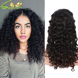 style for long black hair Australia - new style 8a loose deep wavy wig brazilian virgin hair full lace wigs for black women lace front human hair deep wave wigs