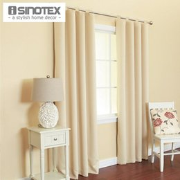 Window Curtain For Living Room Drawing Bedroom Modern Drapes Solid Loops Cortinas CottonPolyester 1PCS Lot Cheap Curtains