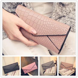 Discount thread crochet pattern Brand new spring and summer fashion women leisure embossed stone pattern long purse wallet Wristletr VMB8