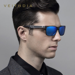 Sunglasses Definition Canada - Wholesale-2016 new men's fashion design polarized sunglasses aluminum and magnesium colorful high-definition visuals good sunglasses