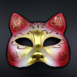 $enCountryForm.capitalKeyWord Canada - New Party Masks Luxury Cat Masks Half Face Sexy Woman Mask Cosplay Venetian Masquerade Party masks novelty gift