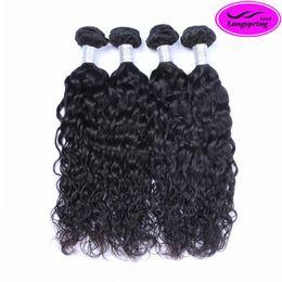 $enCountryForm.capitalKeyWord Canada - Best Quality Brazilian Hair Natural Wave Human Hair Weaves 1 Piece as Sample Peruvian Malaysian Indian Cambodian Hair Extensions