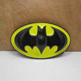 $enCountryForm.capitalKeyWord Australia - BuckleHome batman belt buckle with yellow enamel with black coating FP-02870 free shipping
