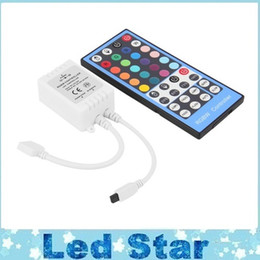 dc controllers NZ - IR DC 12-24V 40-key LED RGBW RGBWW Remote Controller With touch screen remote For RGBW LED Strip Light