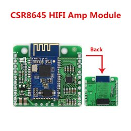 Module Music Canada - DC 12V 5V CSR8645 APT-X Amplifier Module Lossless Music Hifi Bluetooth 4.0 Receiver Board Module for Car Amplifier Speaker