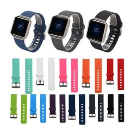 Replacement Bracelet Watch Bands Canada - FC0028 Newest Replacement Multicolor Smart Watch Soft Silicone Watchband Bracelet For Fitbit Blaze Watch Band Wrist Watch Design