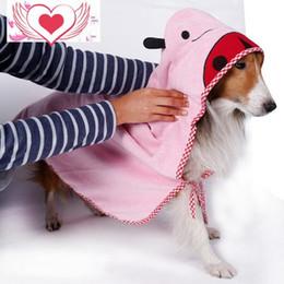 $enCountryForm.capitalKeyWord Canada - Pet products for winter dog clothes for bathing Bath Microfiber cartoon Gou soft water absorbent towel bathrob