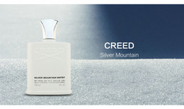 Wholesale Christmas perfumes brand cologne Creed sliver mountain water for men cologne 120ml with long lasting time good smell