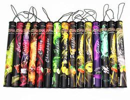E Hookah Huge Canada - SMOKing Stick Disposable Shisha Time Pens Pipes Shi Sha eHookah e-hookah Huge Vapor Up to 500puffs Various Flavors Classic Flavor