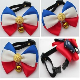$enCountryForm.capitalKeyWord Canada - 2016 Now dog fashion handmade jewelry pet bow tie dog collar bells cat bow necklace accessires