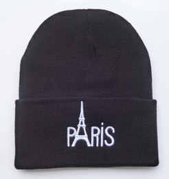 $enCountryForm.capitalKeyWord Canada - New Style winter hats PARIS letter hats brand new mens women designer knitted beanies caps baseball hats without MOQ Freeshipping HFMY