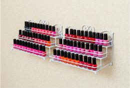 Iron storage case online shopping - Nail Polish Desktop Rack Layers Display Stand Storage Holds Iron Art Shelf Holdr Case Shelf Nail Salon