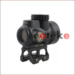 Trijicon MRO Style Holographic Red Dot Sight Optic Scope Équipement tactique avec 20mm Scope Mount for Hunting Rifle