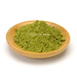 Chinese  Wholesale 100g 2018 Organic Green Tea Powder, Free Shipping- Fresh Powder Made of Organic Spring Green Tea manufacturers