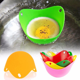 microwave cookware NZ - Silicone egg boilers Silicone Egg Poacher - Egg Cups Cookware - Microwave Egg Cooker or Egg Boiler free shipping