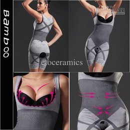 Womens Magic Bamboo Dimagrante Body Shaper Suit Firm Control Underwear Shapewear