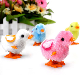 baby light toy UK - Baby cute plush toys chain spring chicken chicken chicken stall selling small children's toys wholesale