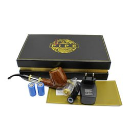 China EGO E-Pipe Electronic Cigarette Kit E-pipe 618 With Gift Package Set 2.5ml No Cotton Wick Atomizer 18650 900mAh Detachable Battery suppliers