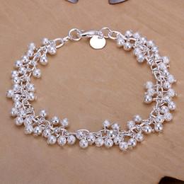 $enCountryForm.capitalKeyWord NZ - high quality Sand light grapes 925 silver charm bracelet 19cm DFMWB232,women's sterling silver plated jewelry bracelet
