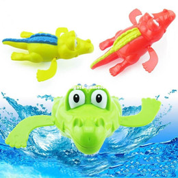 $enCountryForm.capitalKeyWord NZ - 2017 Baby Swim Play Toys Wind-up Animal In The Pool Baby Shower Swiming Pool Bath Toy Pool Accessories For Children Kids Gift
