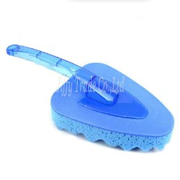$enCountryForm.capitalKeyWord UK - Car Spoke Truck Motorcycle Alloy Wheel Brush Tire Rim Hub Clean Plastic Coated Wire Wash Washing Cleaning Tool(color:blue)