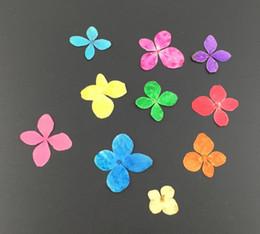 $enCountryForm.capitalKeyWord Canada - 100pcs Mini Pressed Dried Hyndrangea Flower For Wedding Party Home Pendant Necklace Craft DIY Bouquet Accessories