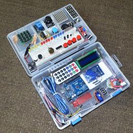 Venta al por mayor de Al por mayor- NUEVO kit de inicio RFID para Arduino UNO R3 versión mejorada Suite de aprendizaje con caja al por menor