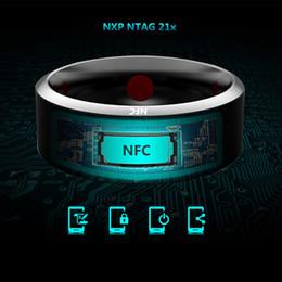 Akıllı Yüzükler Giymek Jakcom R3 NFC Sihirli iphone Samsung HTC Sony LG IOS Android Windows NFC Cep Telefonu