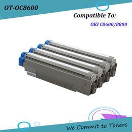 Toner for oki online shopping - OC8600 Compatible Toner for OKI C8600 C8800 OKI OKI BK C M Y pages