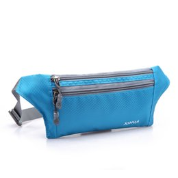 China Wholesale- Marathon running bag sport waist pack Waist bag Cycling Jogging Sport fanny pack Running belt elastic for Mobile Phone supplier cycling fanny pack waist bag suppliers