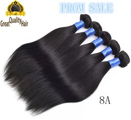 18 Inch Human Hair For NZ - Free Shipping 8A Straight Hair For 8-30 inch Hair Brazilian Malaysian Peruvian Indian Human Hair Extensions 4pcs Peruvian Hair Weave