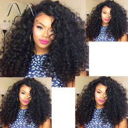 Women Small Hairs Canada - wholesale Full Lace Wig 150% Density Glueless Brazilian Human Hair wigs with baby hair Lace Front Wigs For Black Women