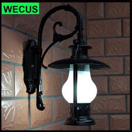 2017 Outdoor Waterproof Light Switch Outdoor Lighting Wall Lamp Light  Waterproof Vintage Lamp Aluminum Die Casting