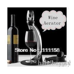 Decanter Box NZ - Promotion 40 Sets Lot Fedex Free Shipping, Deluxe Magic Wine Aerator Tower Gift Box Set, Red Wine Aerating Decanter Bottle Glass 0419xx